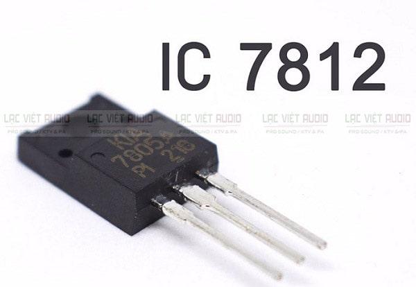 Khắc phục amply hay bị ngắt do nguồn sụt áp bằng cách thêm IC7812
