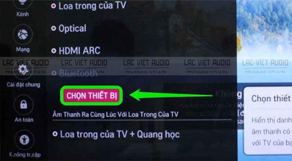 Cách kết nối micro bluetooth với tivi TCL