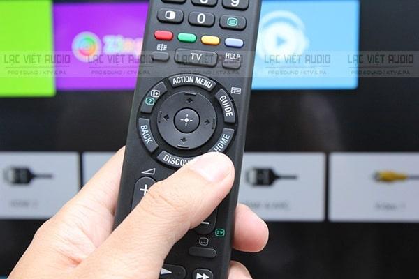 Cách kết nối micro không dây với smart tv bước 1