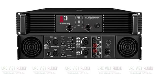 Cục đẩy Audiocenter A7.0 có chất lượng âm thanh chuyên nghiệp, hoạt động bền bỉ