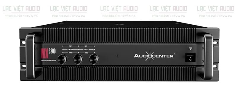 Cục đẩy công suất Audiocenter MX3200 mặt trước