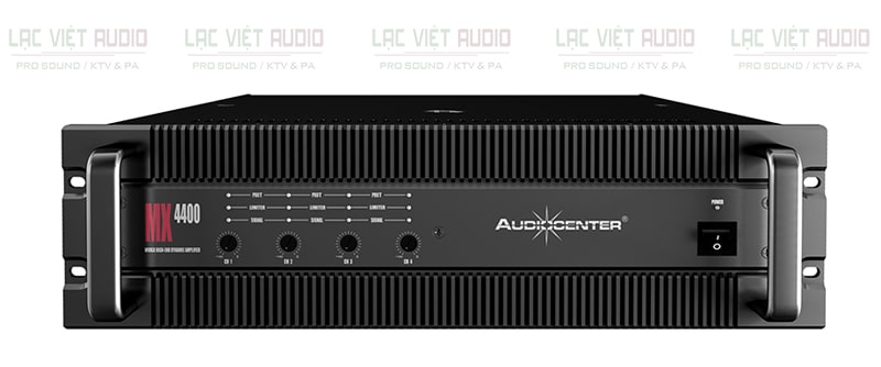 Cục đẩy công suất Audiocenter MX4400 mặt trước