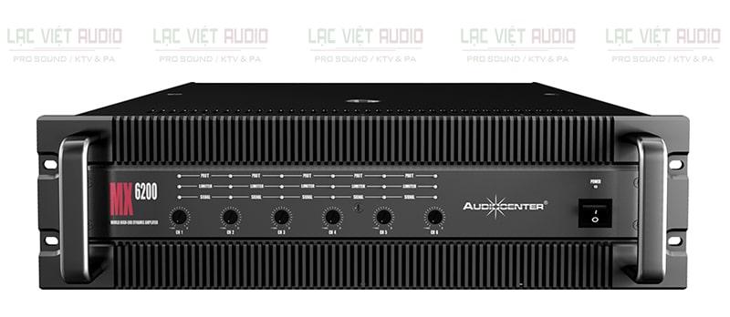 Cục đẩy công suất Audiocenter MX6200 mặt trước