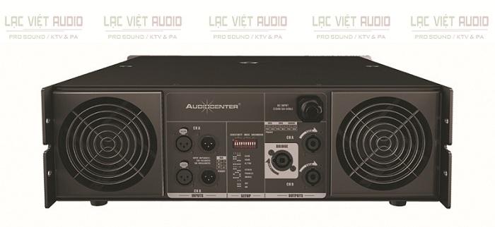 Mặt sau của cục đẩy Audiocenter PRO12.0