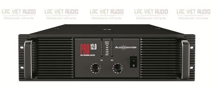 Cục đẩy Audiocenter PRO12.0 có thiết kế đẹp mắt