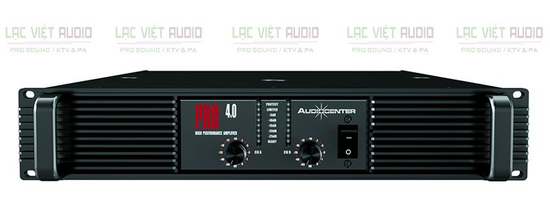 Cục đẩy Audiocenter PRO4.0 sở hữu thiết kế đẹp mắt