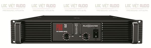 Cục đẩy Audiocenter PRO7.0 sở hữu công suất mạnh mẽ, hoạt động ổn định