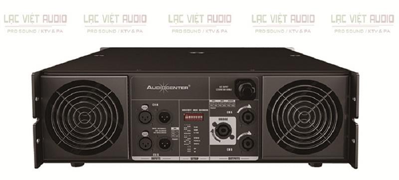Cục đẩy Audiocenter PRO9.0 mặt sau