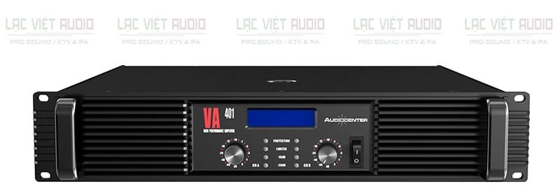 Cục đẩy Audiocenter VA401 bền bỉ, ổn định, chất âm chuyên nghiệp