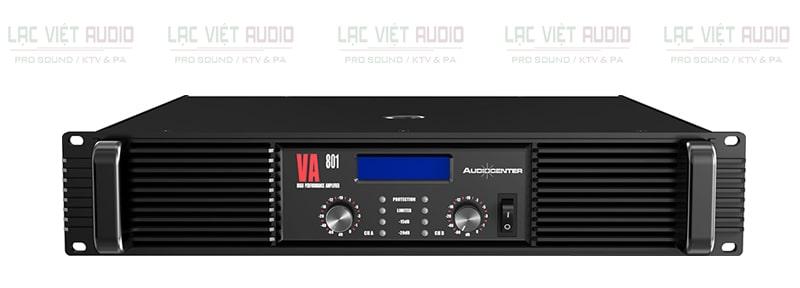 Cục đẩy Audiocenter VA801 mặt trước