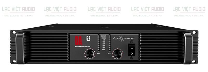 Cục đẩy Audiocenter DA6.2 có giao diện thông minh, tiện lợi