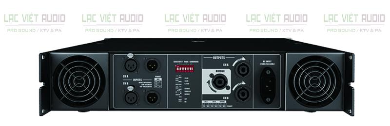 Mặt sau của cục đẩy Audiocenter PRO6.0