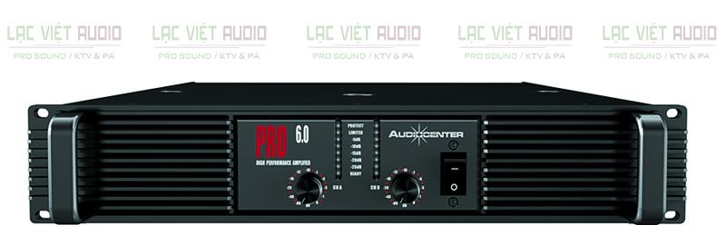 Cục đẩy Audiocenter PRO6.0 hoạt động ổn định, bền bỉ