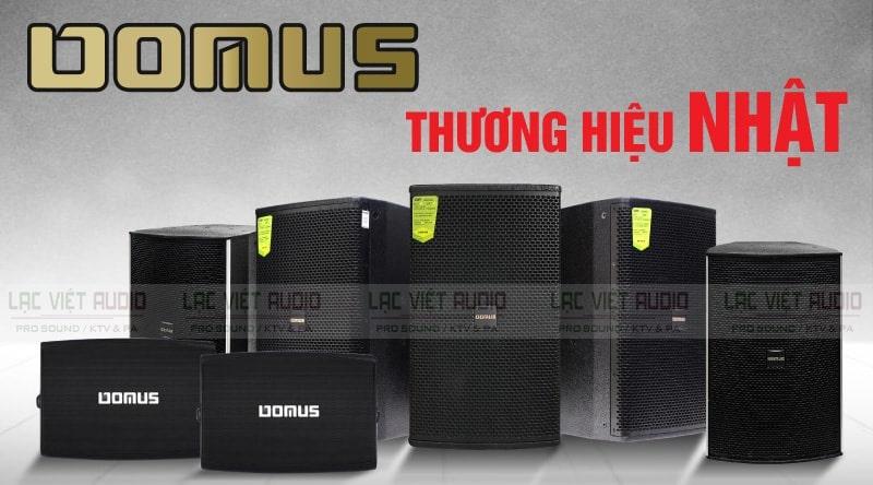Loa karaoke Domus - Thương hiệu loa chất lượng tới từ Nhật Bản