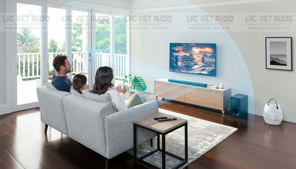 Loa Soundbar là lựa chọn hoàn hảo cho không gian gia đình nhỏ