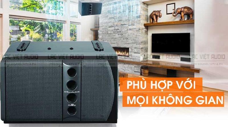 Loa karaoke Wharfedale có thiết kế hiện đại sang trọng