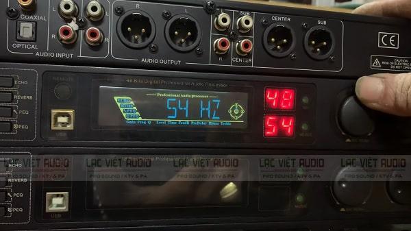 Cách chỉnh vang số Tripath cho phần Music chú ý tới cắt dải trầm và cao