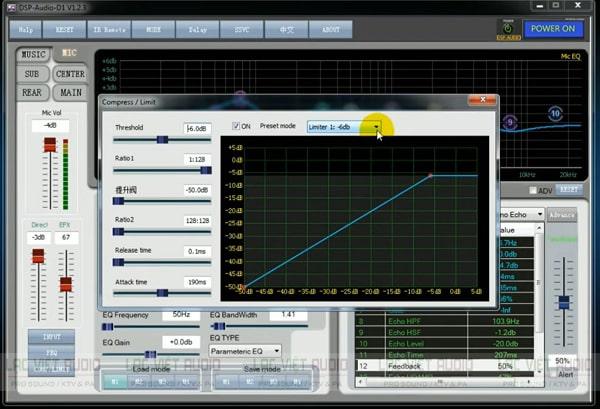 Cách chỉnh vang số Tripath 980, 580 thông qua phần mềm
