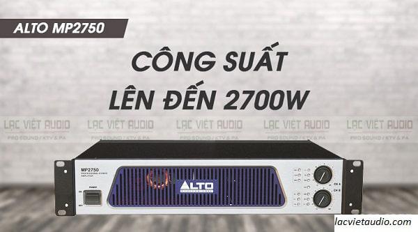 Cục đẩy class H Alto MP 2750