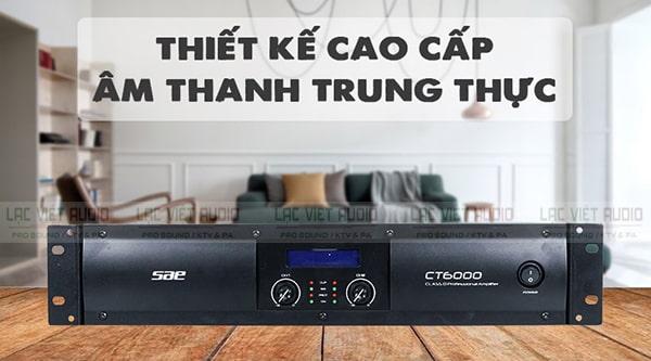 Cục đẩy class D giá rẻ SAE CT6000