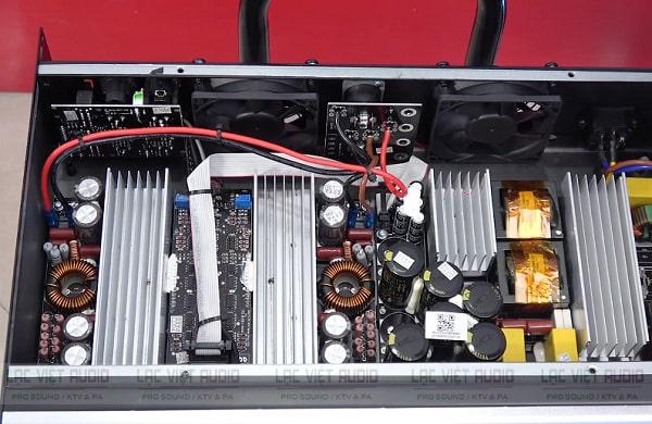 Trang bị nguồn SMPS và mạch klhuếch đại class D