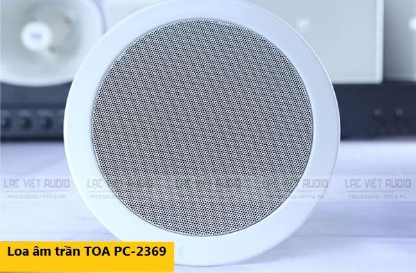 Loa TOA PC-2369 cho chất âm rõ ràng, trong sạch