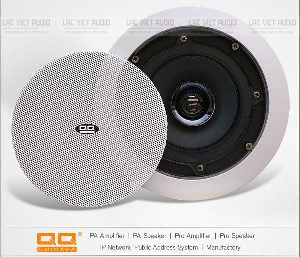 Loa âm trần bluetooth LTH-8315TS có thiết kế nhỏ gọn, sang trọng