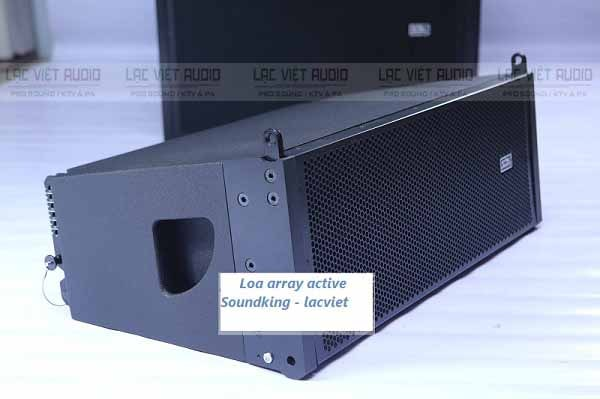 Loa line array active Soundking G210