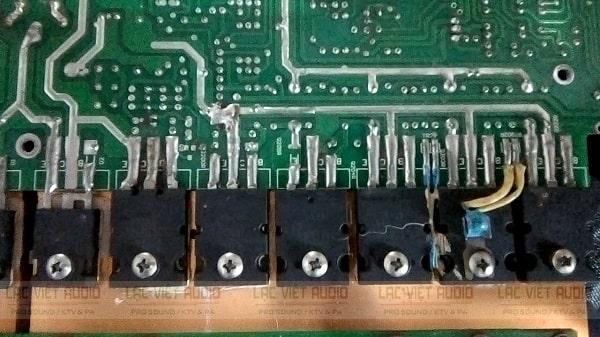 Hiệu suất của mạch công suất class TD khoảng trên 70%