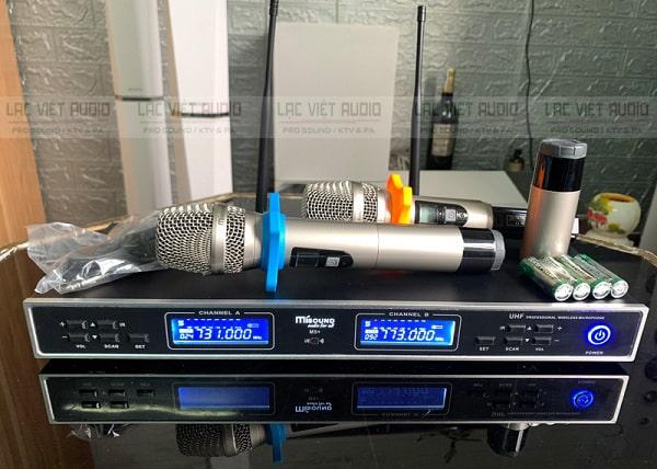 Mua micro Misound chất lượng tại Lạc Việt Audio