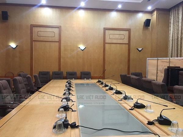 Cung cấp và lắp đặt các phòng họp phù hợp diện tích và nhu cầu sử dụng