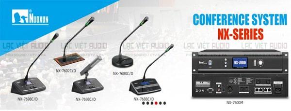 Báo giá cho thuê âm thanh hội nghị Nuoxun cao cấp