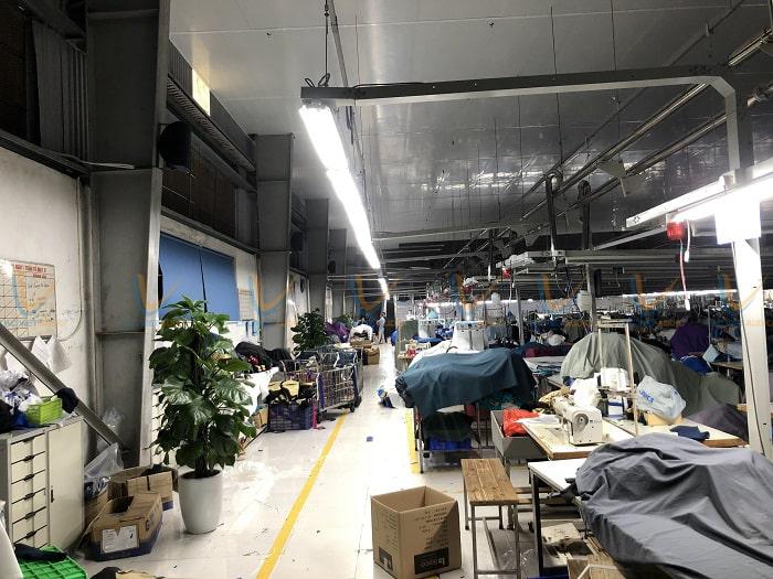 Nhà xưởng sử dụng hệ thống âm thanh chuyên nghiệp