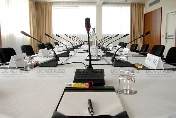 Lạc Việt Audio - Địa chỉ cung cấp giải pháp âm thanh hội thảo Shure chuyên nghiệp