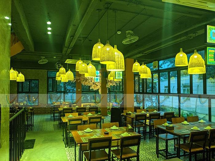 Sau khi lắp đặt xong, bàn giao và hướng dẫn sử dụng cho nhân viên tại nhà hàng