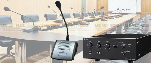 Cấu hình lắp đặt âm thanh hội nghị TOA TS-770