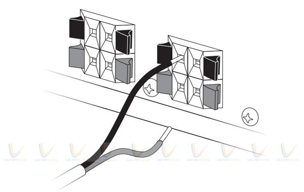 Phương pháp lắp đặt loa Bose FreeSpace 51