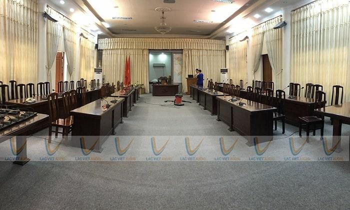 Không gian phòng họp của Bộ Tư lệnh Vùng 1 Hải Quân Nhân dân Việt Nam