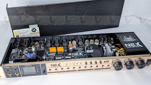 Hệ thống linh kiện chất lượng cao của vang NEX FX9 Plus