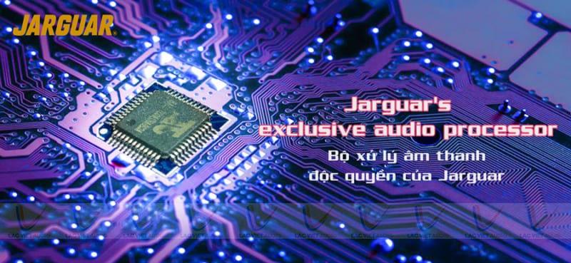Vang Jarguar S600 Platinum sử dụng bộ xử lý âm thanh thế hệ mới