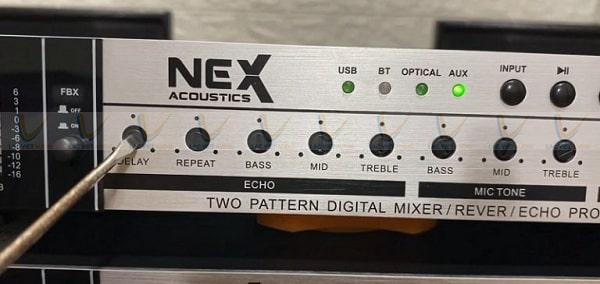 Hướng dẫn chỉnh vang cơ NEX FX8, NEX FX9 plus phần ECHO