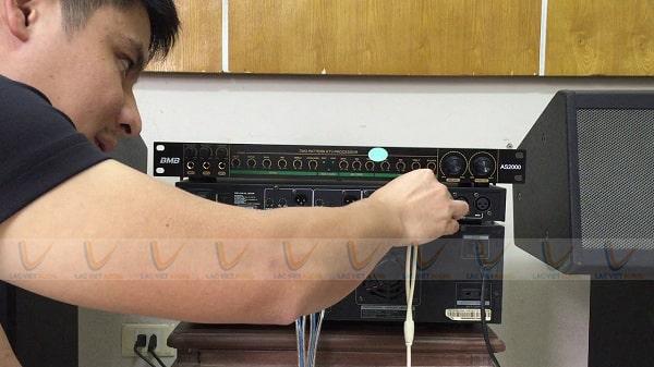 Ghép vang cơ với amply khi amply bị hỏng hiệu ứng