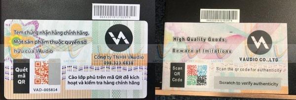 Hàng nhái thì không thể check mã QR Code như hàng thật