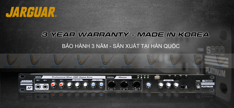 Mua vang cơ Jarguar S600 chính hãng tại Lạc Việt Audio