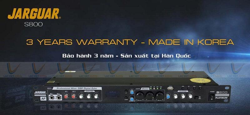 Mua vang Jarguar S800 Platinum chính hãng tại Lạc Việt Audio