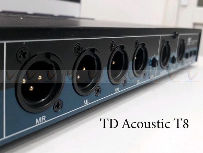 Mua vang cơ lai số TD Acoustic T8 chú ý kiểm tra cổng kết nối bên trong