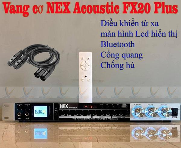 Mua vang cơ NEX FX20 Plus chính hãng, giá rẻ tại Lạc Việt Audio