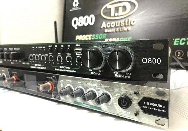 Mua vang cơ TD Acoustic Q800 chính hãng tại Lạc Việt Audio
