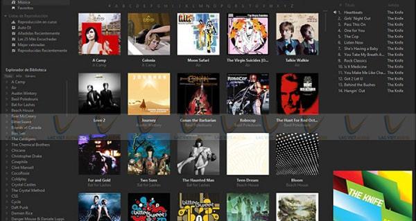 Phần mềm nghe nhạc đuôi Flac MusicBee