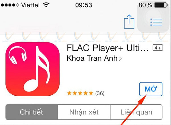 Nghe nhạc Flac trên Iphone bằng FLAC Player
